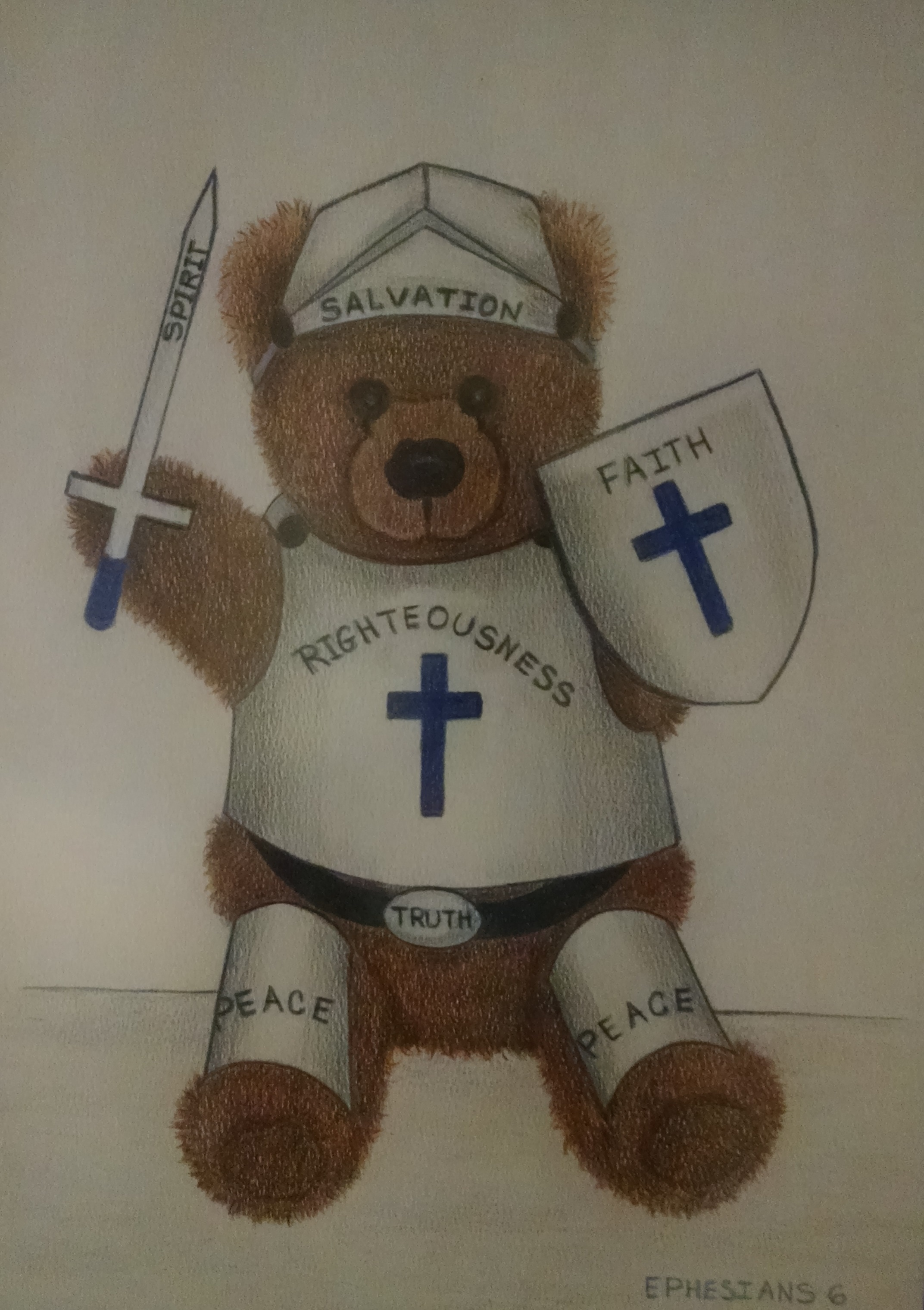 Armor Of God And Wondered If I Teddy Bear